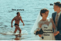 Cheating Boyfriend Meme