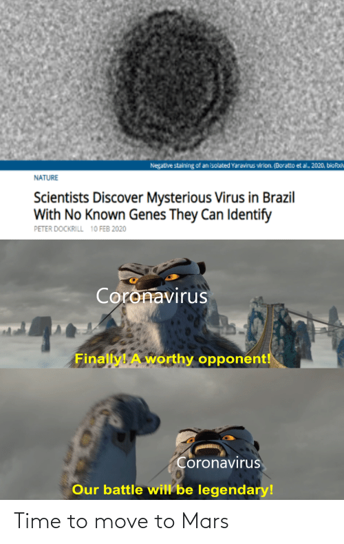 Move To: Time to move to Mars