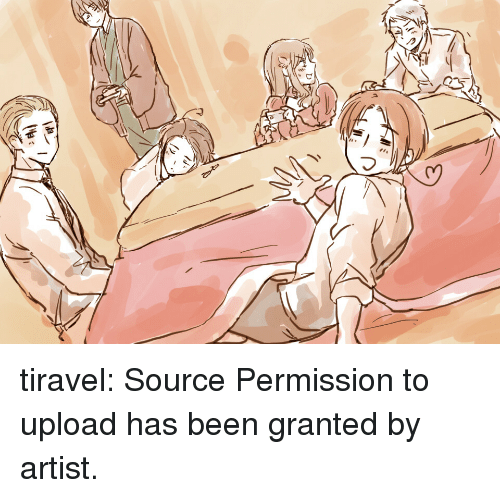 Target, Tumblr, and Blog: tiravel: Source Permission to upload has been granted by artist.