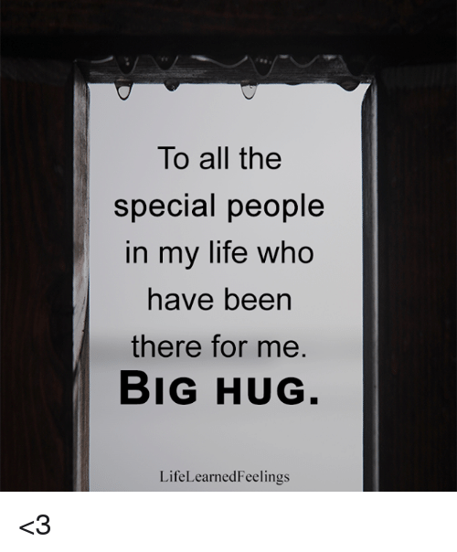 special people in my life Hello friends hmm there is always a special day, a special time when a special person comes into out life & heart and fills it with love, joy &a.