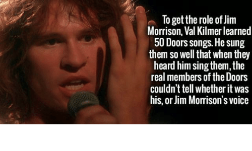 Jim Morrison Songs and The Real To get the role of Jim Morrison  sc 1 st  ASTROLOGYMEMES.COM & To Get the Role of Jim Morrison Val Kilmer Learned 50 Doors Songs He ...