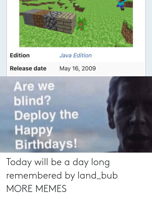 A Day: Today will be a day long remembered by land_bub MORE MEMES