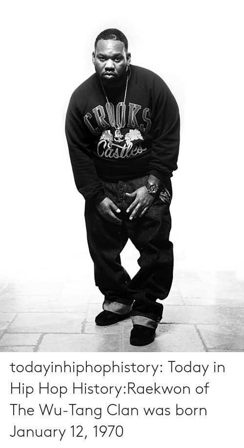 wu tang: todayinhiphophistory:  Today in Hip Hop History:Raekwon of The Wu-Tang Clan was born January 12, 1970