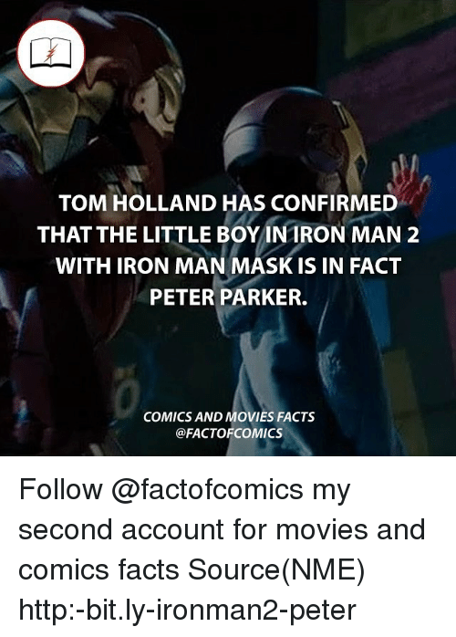 Tom Holland Has Confirmed That The Little Boy Intron Man 2
