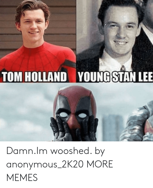 Dank, Memes, and Target: TOM HOLLAND  YOUNGSTAN LEE Damn.Im wooshed. by anonymous_2K20 MORE MEMES