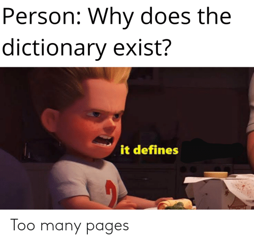 Pages, Too, and  Too Many: Too many pages