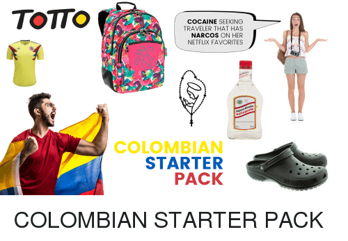 Totto Cocaine Seeking Traveler That Has Narcos On Her Netflix