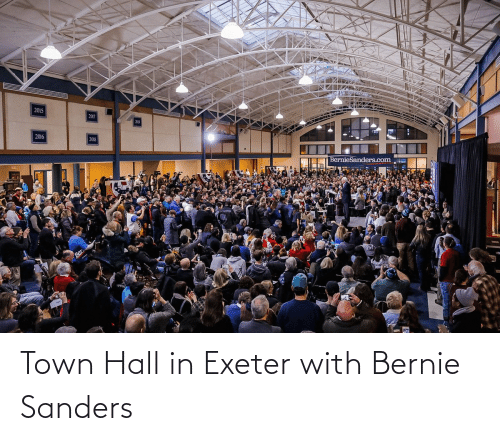 Bernie Sanders: Town Hall in Exeter with Bernie Sanders