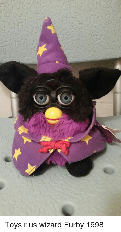 Toys R Us, Furby, and Toys: Toys r us wizard Furby 1998
