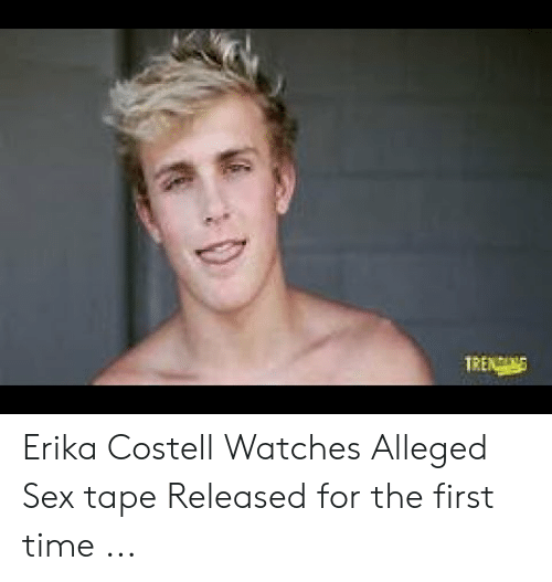 Erika Costell: TRENNG Erika Costell Watches Alleged Sex tape Released for the first time ...