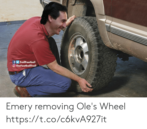 Memes, 🤖, and Emery: TrollFootball  O TheFootballTroll Emery removing Ole's Wheel https://t.co/c6kvA927it