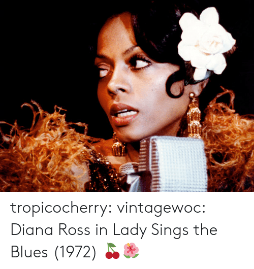 Diana Ross: tropicocherry:  vintagewoc:  Diana Ross in Lady Sings the Blues (1972)  🍒🌺