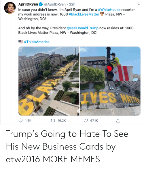 new: Trump's Going to Hate To See His New Business Cards by etw2016 MORE MEMES