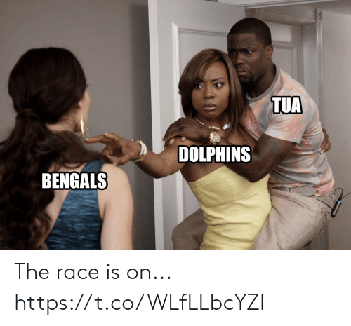 Football, Nfl, and Sports: TUA  DOLPHINS  BENGALS The race is on... https://t.co/WLfLLbcYZI