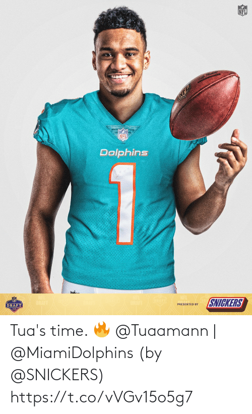 snickers: Tua's time. 🔥  @Tuaamann | @MiamiDolphins  (by @SNICKERS) https://t.co/vVGv15o5g7