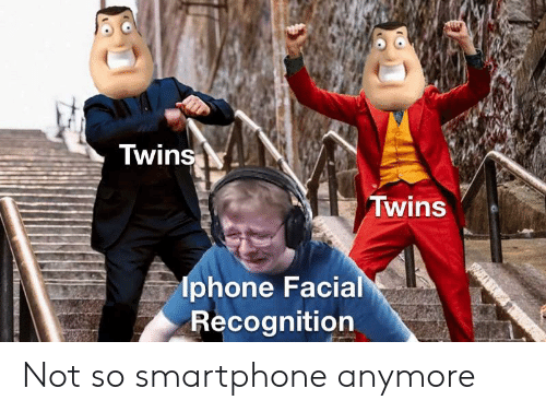 Facial: Twins  Twins  lphone Facial  Recognition Not so smartphone anymore