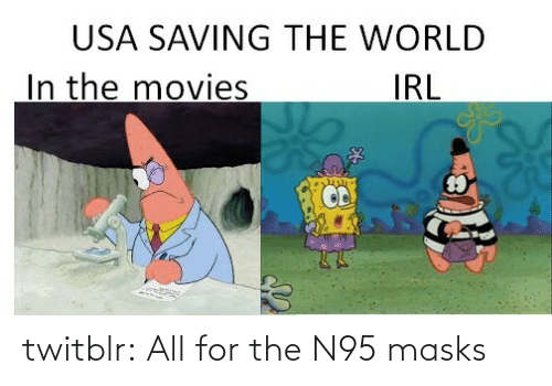 tumblr: twitblr:  All for the N95 masks