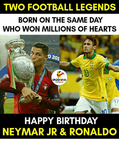 Two Football Legends Born On The Same Day Who Won Millions Of