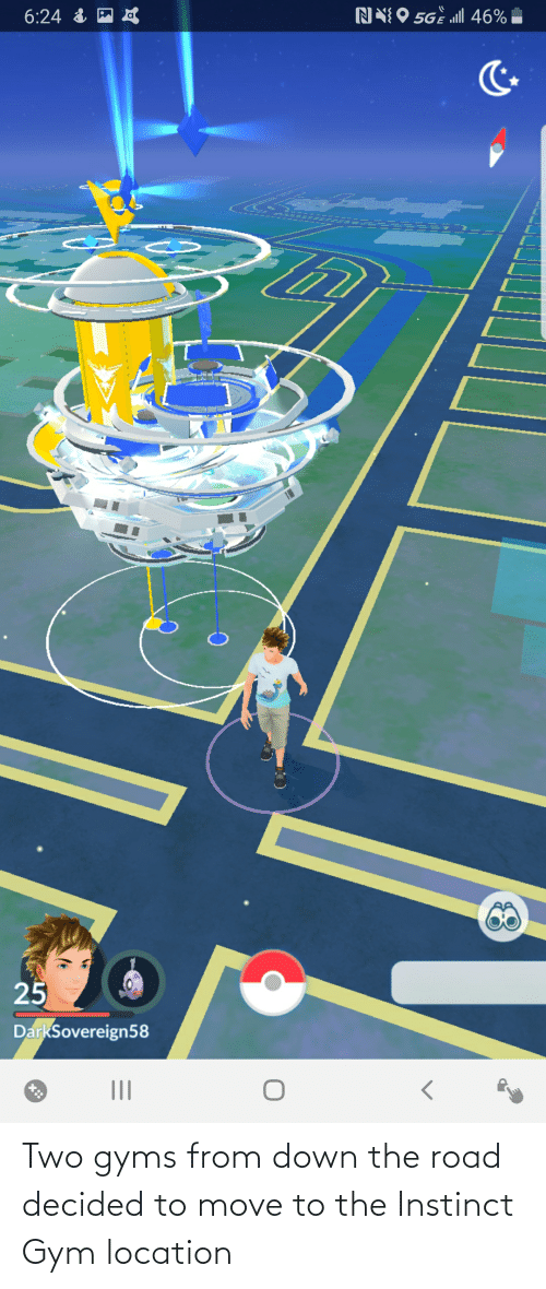 Move To: Two gyms from down the road decided to move to the Instinct Gym location