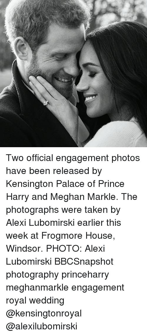 Windsor: Two official engagement photos have been released by Kensington Palace of Prince Harry and Meghan Markle. The photographs were taken by Alexi Lubomirski earlier this week at Frogmore House, Windsor. PHOTO: Alexi Lubomirski BBCSnapshot photography princeharry meghanmarkle engagement royal wedding @kensingtonroyal @alexilubomirski