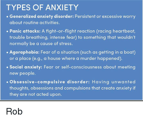 how psychological theories have elucidated the nature of anxiety with reference to panic disorder Synonym: panic attacks (recurrent) panic disorder can be a severe and disabling illness and is common in primary care it can be difficult to assess when social anxiety disorder can often co-exist and is diagnosed where the situations avoided are predominantly social and interactive in nature.