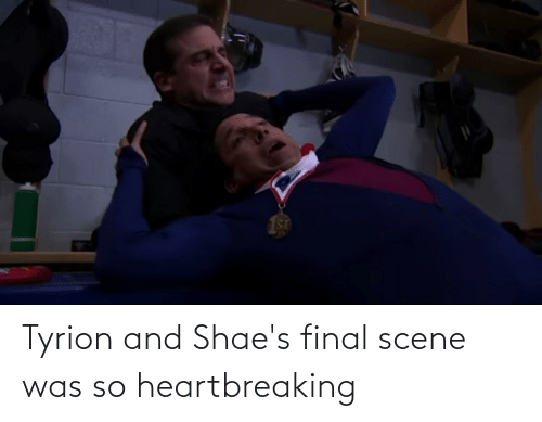 Final Scene: Tyrion and Shae's final scene was so heartbreaking