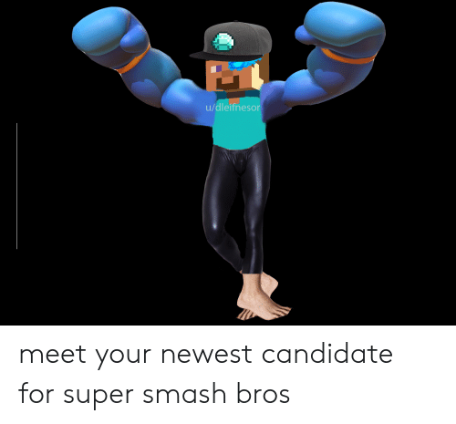 Smashing, Super Smash Bros, and Smash Bros: u/dleifnesor meet your newest candidate for super smash bros