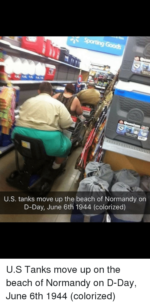 normandy: U.S. tanks move up the beach of Normandy on  D-Day, June 6th 1944 (colorized) U.S Tanks move up on the beach of Normandy on D-Day, June 6th 1944 (colorized)
