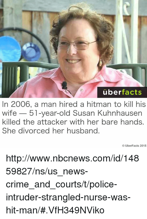 Uber Facts in 2006 a Man Hired a Hitman to Kill His Wife 51