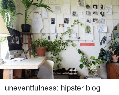 uneventful: uneventfulness:  hipster blog