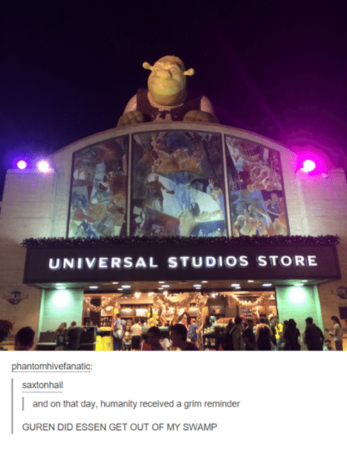 Get Out Of My Swamp
