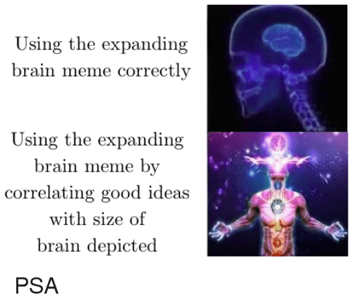 high quality brain expanding rapidly blank meme template high quality ultimate brain expansion blank