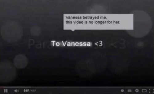betrayed: Vanessa betrayed me,  this video is no longer for her.  Par To Vanessa <3  e07/451  11