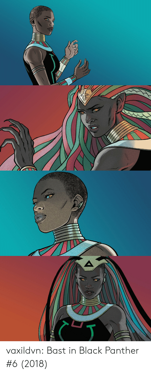 Black Panther: vaxildvn:  Bast in Black Panther #6 (2018)