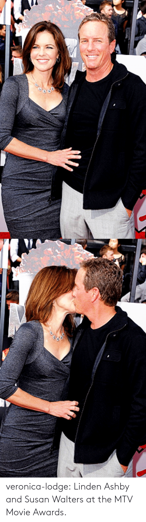 Linden: veronica-lodge:  Linden Ashby and Susan Walters at the MTV Movie Awards.
