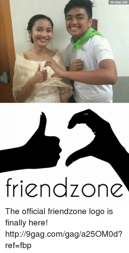 Friendzone Logo: VIA 9GAG.COM  friendzone The official friendzone logo is finally here! http://9gag.com/gag/a25OM0d?ref=fbp