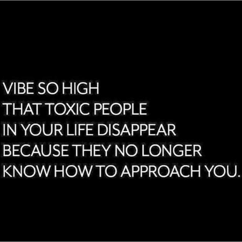 Life, Howto, and You: VIBE SOHIGH  THAT TOXIC PEOPLE  IN YOUR LIFE DISAPPEAR  BECAUSETHEY NO LONGER  KNOW HOWTO APPROACH YOU