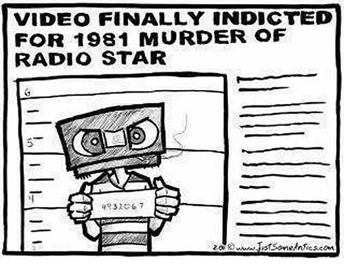 radio star: VIDEO FINALLY INDICTED  FOR 1981 MURDER OF  RADIO STAR  20W