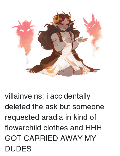 Clothes, Target, and Tumblr: villainveins:  i accidentally deleted the ask but someone requested aradia in kind of flowerchild clothes and HHH I GOT CARRIED AWAY MY DUDES