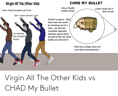 Bullet: Virgin All The Other Kids vs CHAD My Bullet