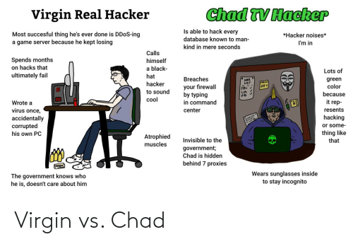 Virgin: Virgin vs. Chad
