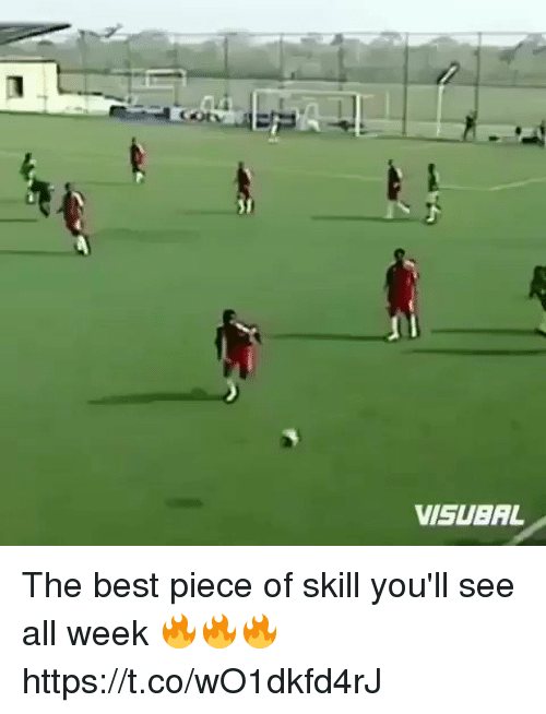 Soccer, Best, and All: VISUBAL The best piece of skill you'll see all week 🔥🔥🔥 https://t.co/wO1dkfd4rJ