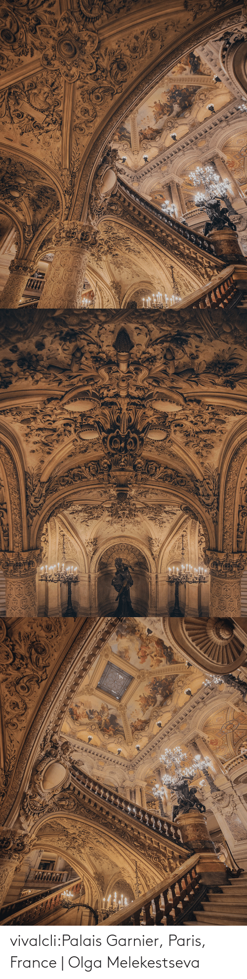 Instagram, Tumblr, and Blog: vivalcli:Palais Garnier, Paris, France | Olga Melekestseva