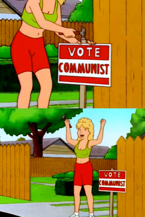 Communist and Vote: VOTE  COMMUNIST   VOTE  OMMUNIST