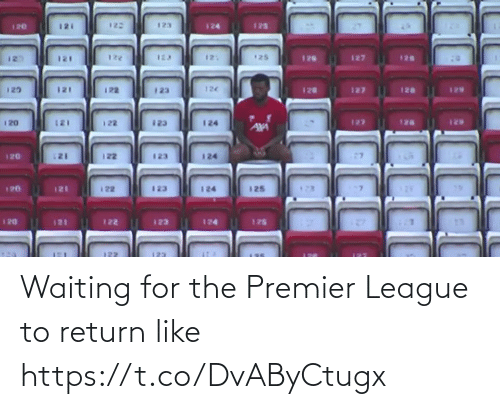 Premier League: Waiting for the Premier League to return like https://t.co/DvAByCtugx