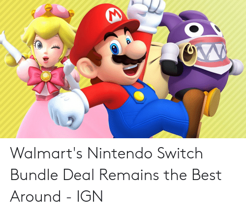 mario pictures: Walmart's Nintendo Switch Bundle Deal Remains the Best Around - IGN