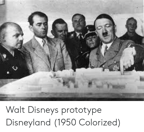 Walt Disney: Walt Disneys prototype Disneyland (1950 Colorized)