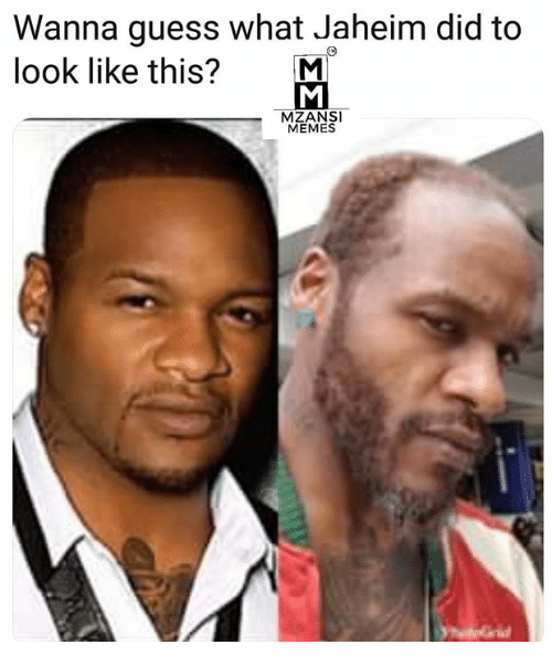 Wanna Guess What Jaheim Did To Look Like This? M MZANSI