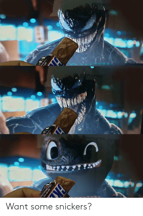 snickers: Want some snickers?
