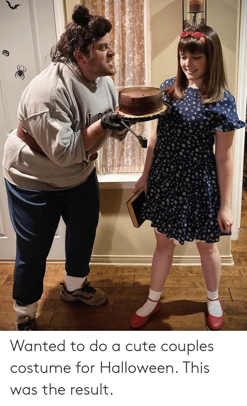 couples: Wanted to do a cute couples costume for Halloween. This was the result.